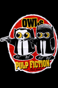 Owls Pulp Fiction