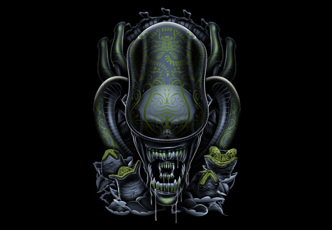 El dia del Alien  Artwork