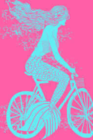 Mermaid on a Bike