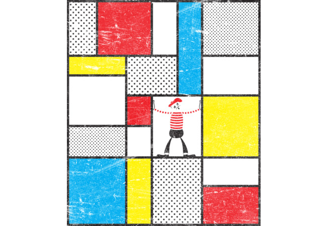 Mondrian's Mime  Artwork