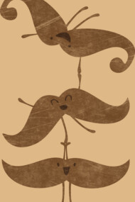 My Staches Can Do Lots of Tricks!