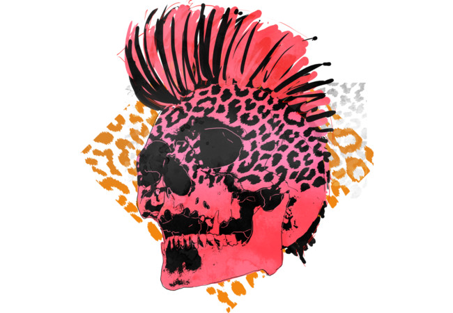 Punk Skull  Artwork