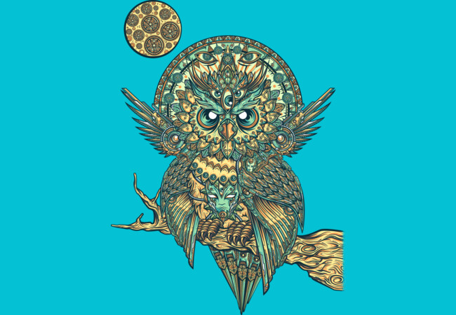 God owl of dreams  Artwork