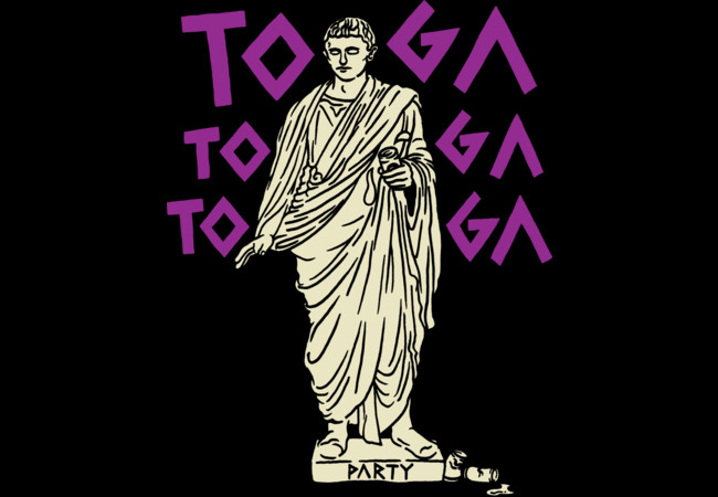 Toga Party!  Artwork