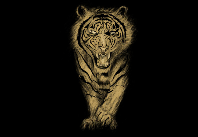 Tiger roar  Artwork