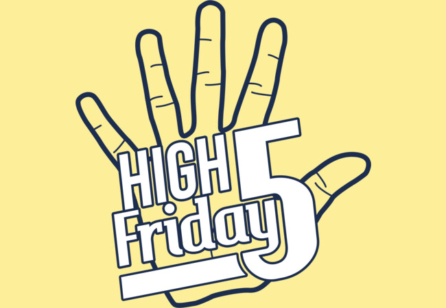 High Five Friday  Artwork
