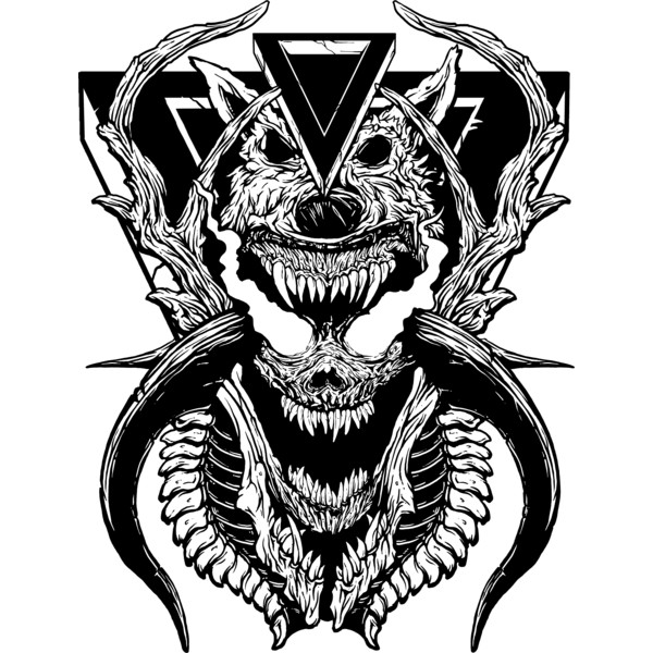 White Wolf Demon Demon Wolf Artwork