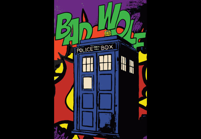 Bad Wolf, Roy.  Artwork