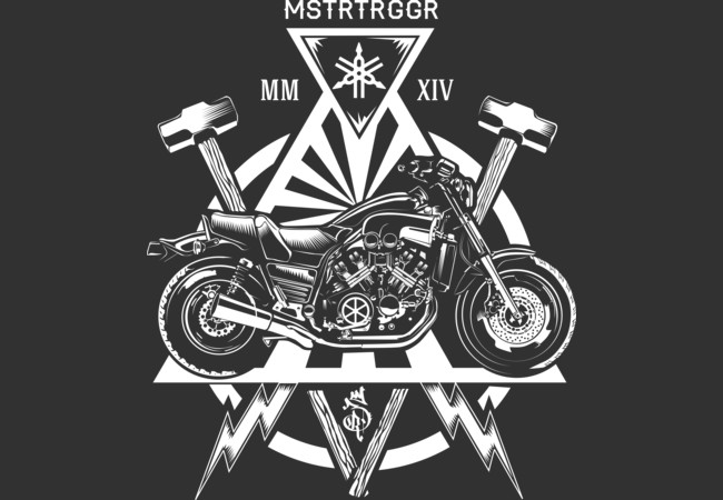 Yamaha V-max  Artwork