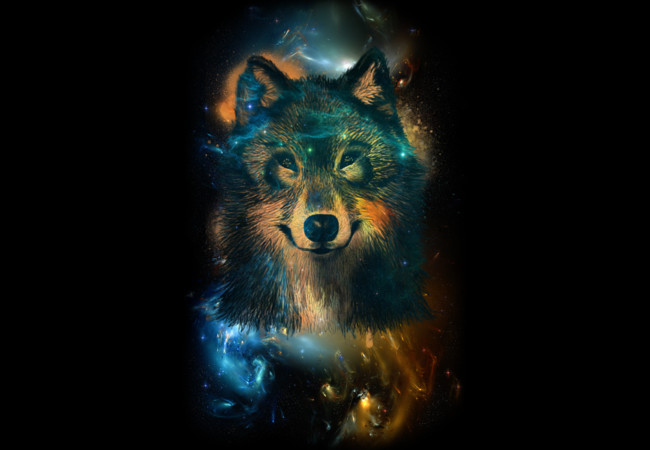 Space Wolf  Artwork