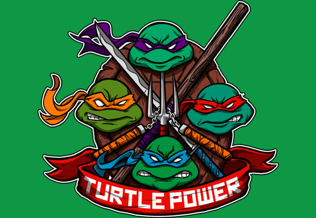 Turtle Power!  Artwork