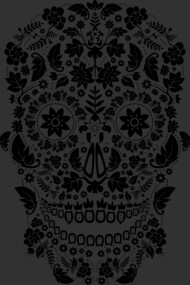 Day of the Dead Skull No6