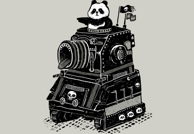 Panda's Terrible Tank of Terror  Artwork