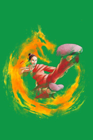 Dragon Kick(red)