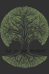 Live in the Moment Tree