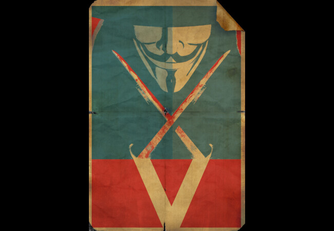 V Vendetta  Artwork