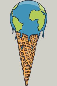 Earth Cream Cone