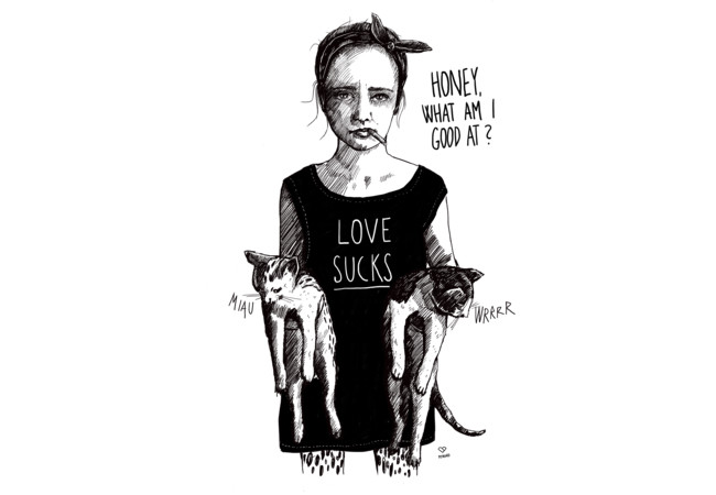 LOVE SUCKS  Artwork