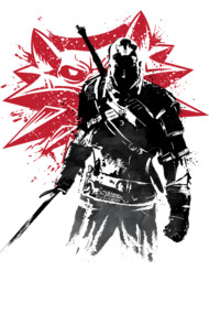 The Witcher Sumi-e
