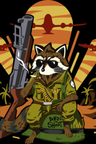 Full Metal Raccoon