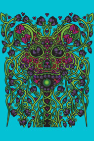 Celtic Day of the Dead Skull