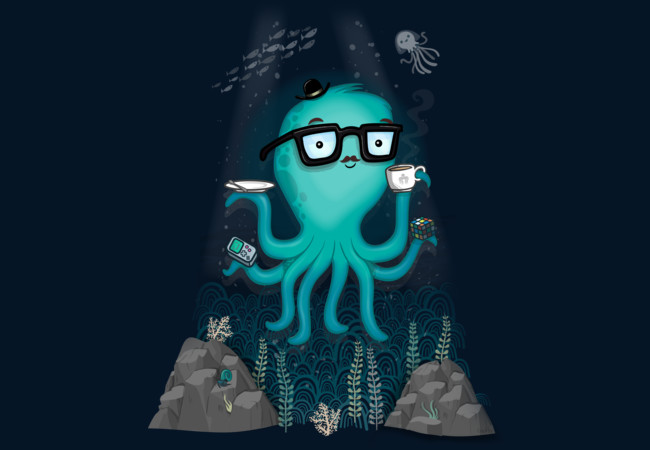 Nerdtopus  Artwork