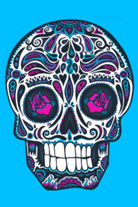 Calavera IV Neon by wotto
