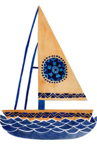 The Tribal Sailboat