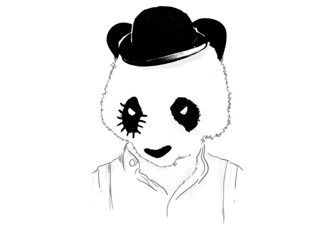 Clockwork panda  Artwork