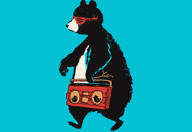 The Music Bear  Artwork