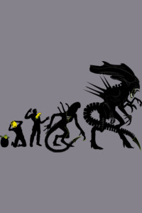 Alien Evolution by Samiel