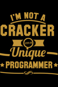 Programmer : I am not a Cracker. I am a unique programmer