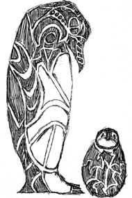 Emperor Penguins Sketch