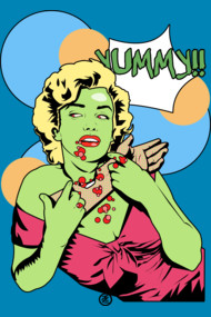 Zombie Pop Art yummy