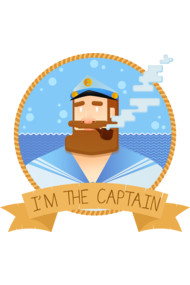 I'm the captain!