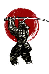 cool samurai