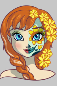 Sugar Skull Series: Thawed Princess