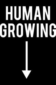 HUMAN GROWING WITH ARROW