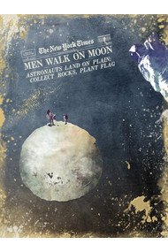 Men walk on Moon Astronauts