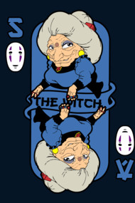 The witch card