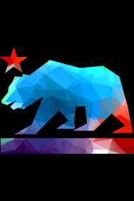 California Bear (fractal colors)