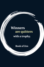 Zen Humor Saying About Winning