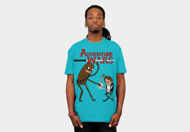 Adventure Wars T-Shirt - Design By Humans