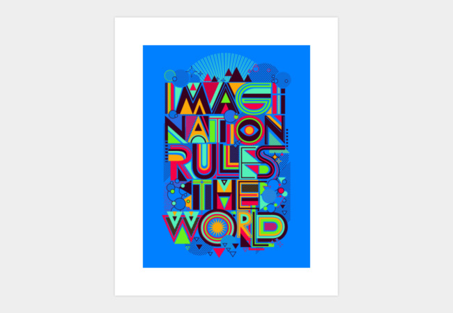 IMAGINATION Art Print - Design By Humans