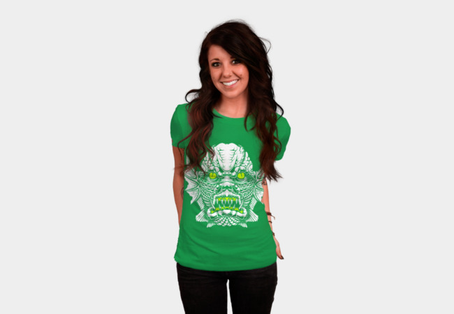 Swamp Monster T-Shirt - Design By Humans