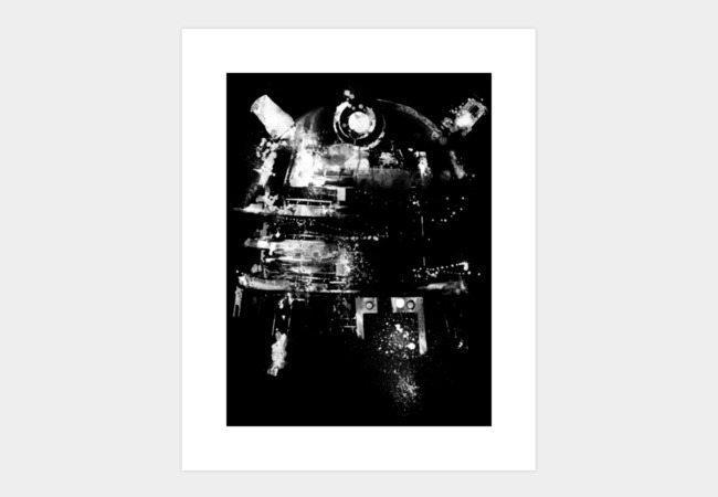 Dalek Art Print - Design By Humans