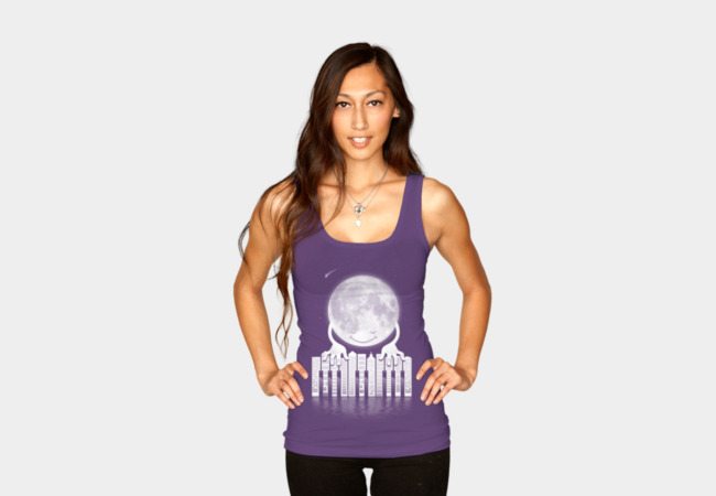 'City Tunes' Tank Top - Design By Humans