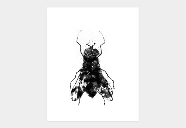 The fly Art Print - Design By Humans