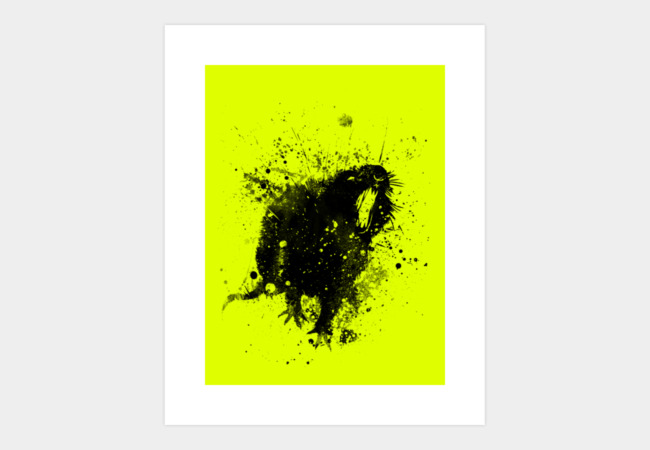 rat Art Print - Design By Humans