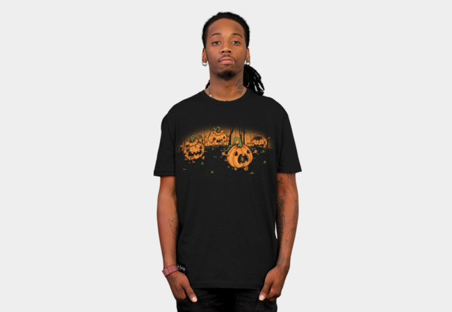 Dead Alive Pumpkin T-Shirt - Design By Humans